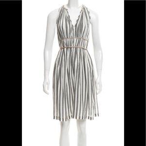 3.1 Phillip Lim Grey & White striped dress size S